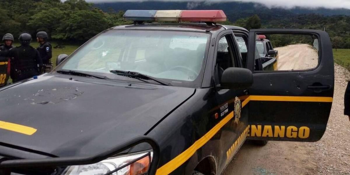 Grupo armado ataca subestación de PNC en Huehuetenango
