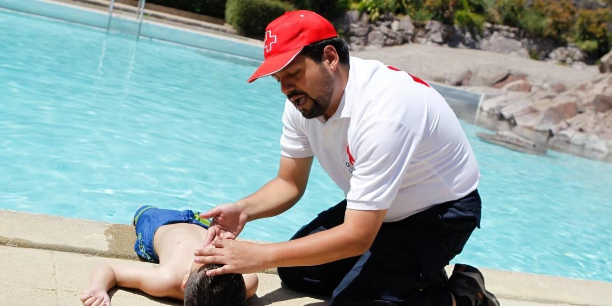 Apenas 4 de cada 100 personas sabe aplicar primeros auxilios en casos de asfixia por inmersión