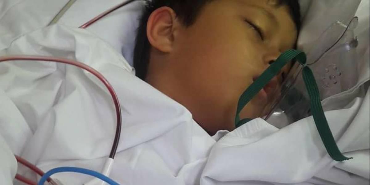 Adrián ha luchado por su vida desde que nació y ahora pide tu apoyo tras nueva fase crítica