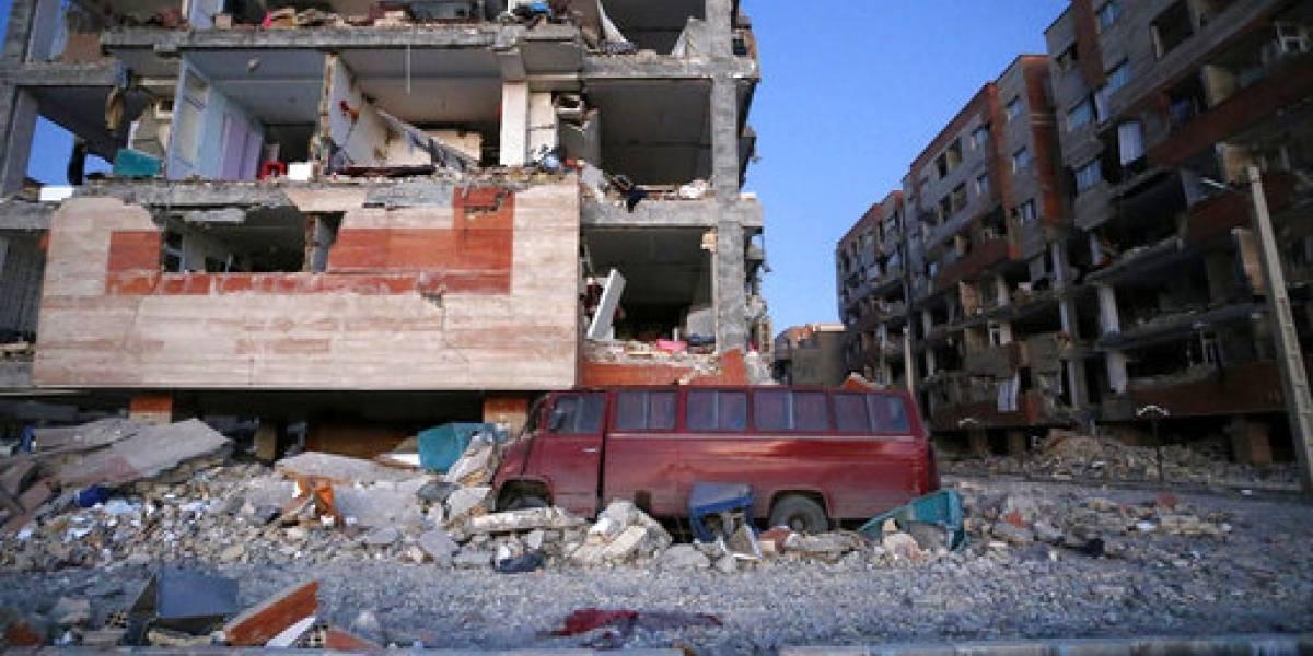 Elevan cifra de muertos tras sismo entre Irán e Irak