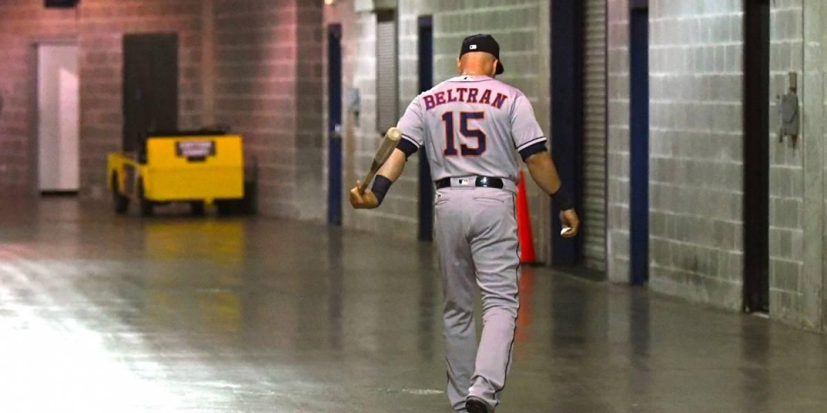 El campeón Carlos Beltrán se retira del béisbol