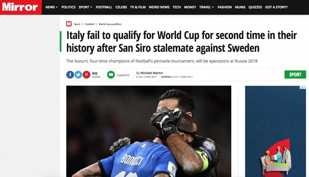 Daily Mirror - Inglaterra
