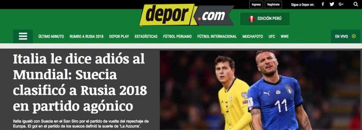 Depor - Perú