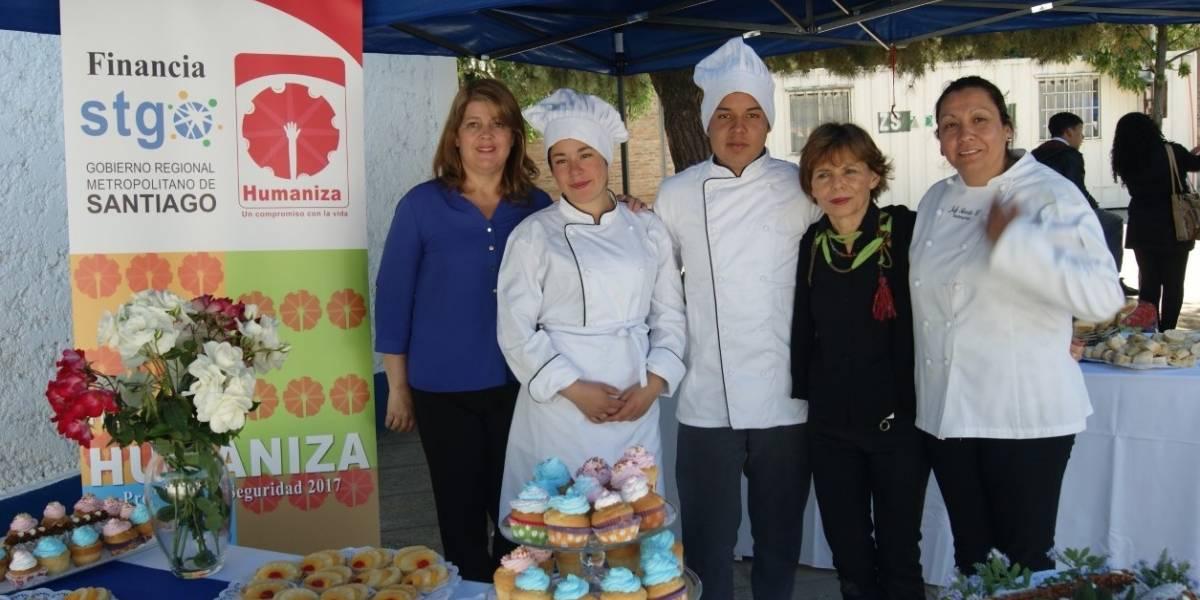 Exitosa finalización de Taller de Panadería de alumnos de Colina