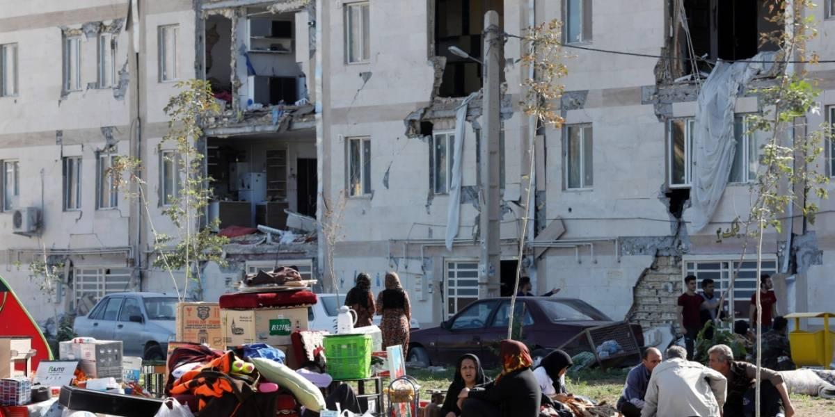 Suben las víctimas del terremoto de Irán a 340 muertos