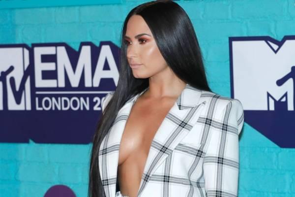 Demi Lovato no EMA 2017