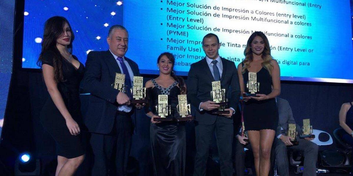 Epson recibe 12 galardones durante los Channel Awards 2017 en Guatemala
