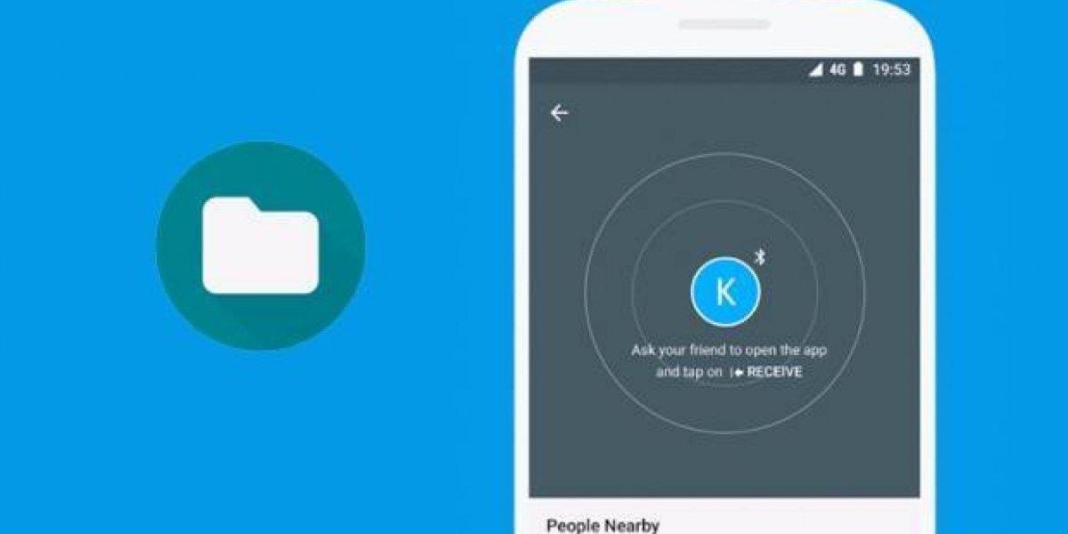 """Ya puedes probar la aplicación """"Airdrop"""" de Google"""