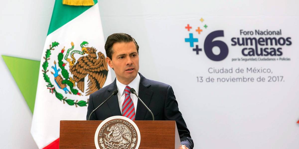Llama Peña Nieto a no hacer 'bullying' al gobierno en materia de seguridad