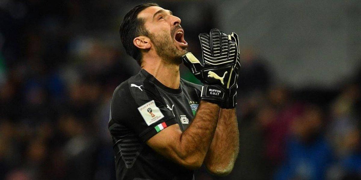 Retiro con llanto: Gianluigi Buffon se despide de Italia sin Mundial ni récord