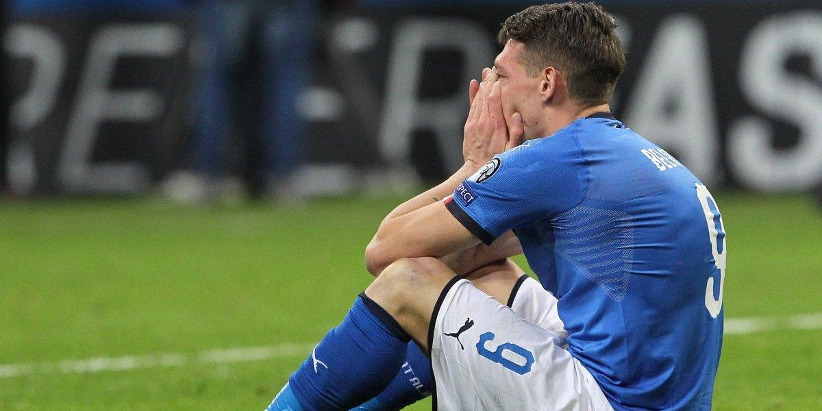 Italia es pura lágrima: Las postales de la impactante caída de un gigante