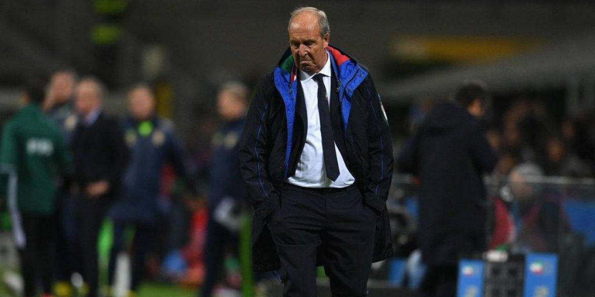 La eliminación todavía no saca a Giampiero Ventura de su puesto como DT de Italia