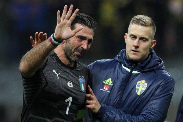 Gianluigi Buffon se retiró de la selección de Italia con el fracaso eliminatorio a Rusia 2018 / Foto: Getty Images