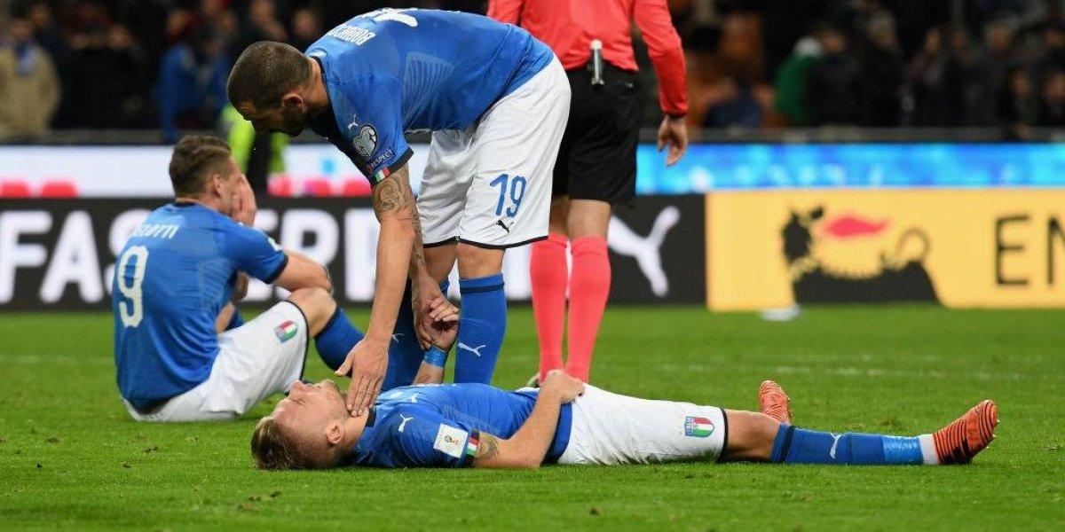 """De Rossi se negó a entrar a la debacle de Italia ante Suecia: """"Necesitamos ganar no empatar"""""""