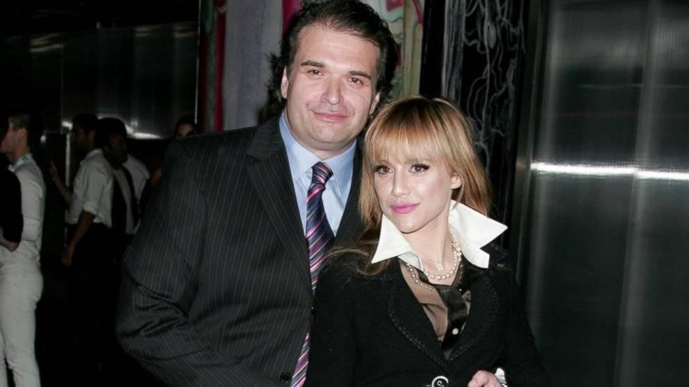 Brittany Murphy y su esposo