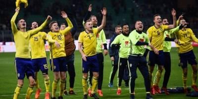 Suecia clasifica al Mundial de Rusia 2018