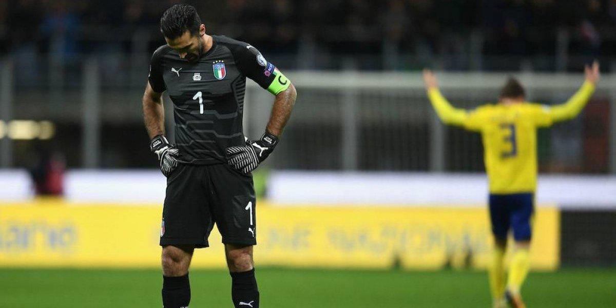Ciao! Italia queda fuera de la Copa del Mundo