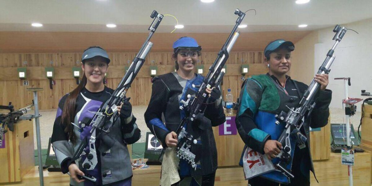 Lunes con dos oros para Guatemala en el tiro de los Juegos Bolivarianos
