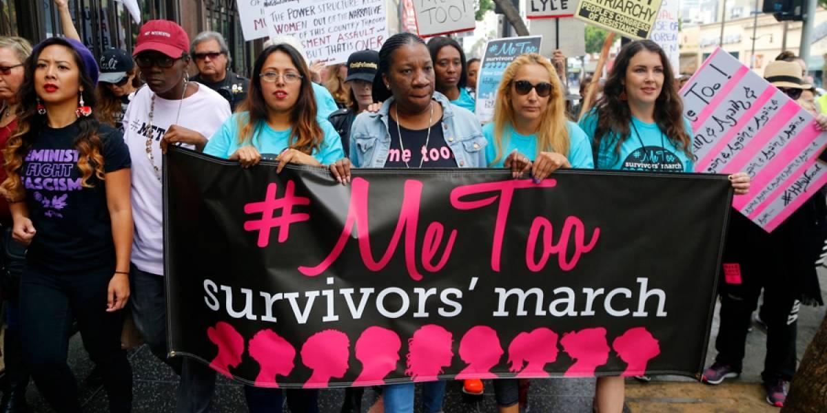 VIDEO. Cientos marchan en Hollywood contra el acoso sexual