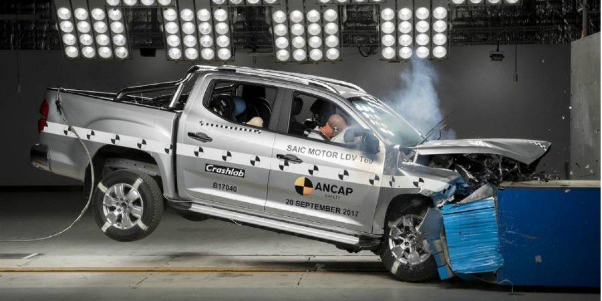 Maxus recibe distinción más alta en seguridad con su T60
