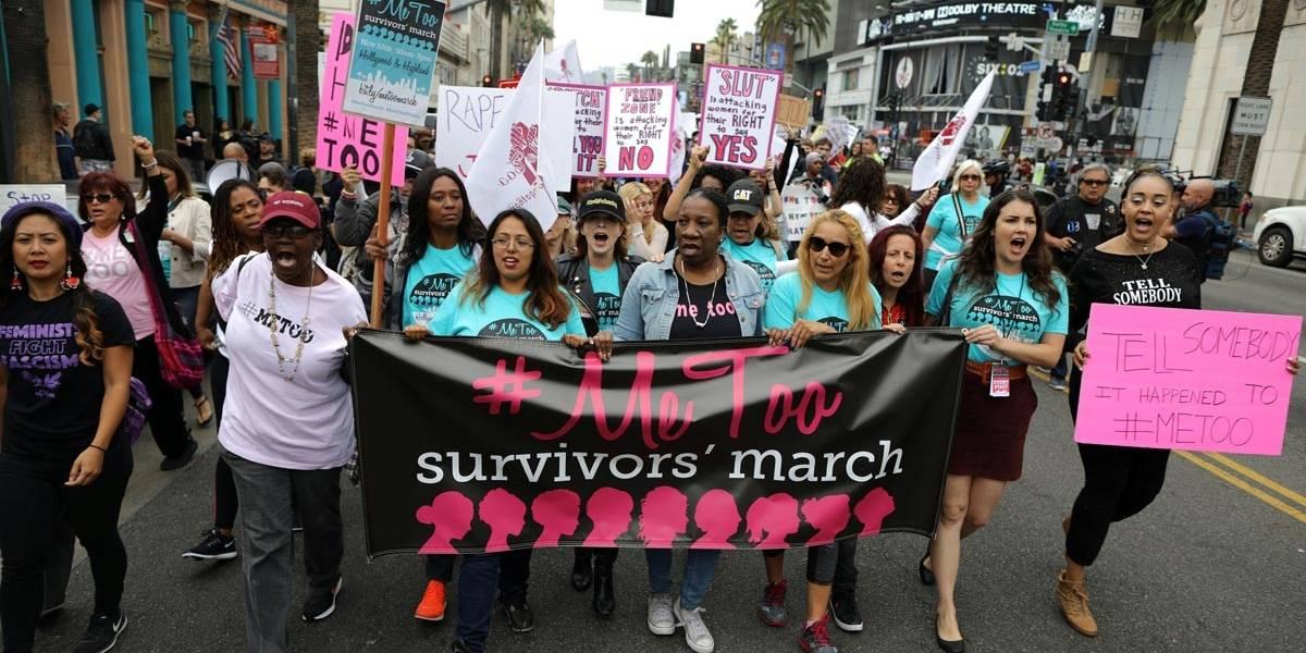 Milhares se reúnem em Hollywood para passeata #MeToo contra abuso sexual