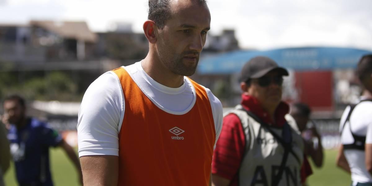 Hernán Barcos envió mensaje a hinchas de LDU