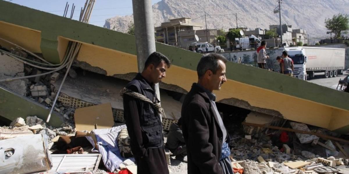 EN IMÁGENES. Cifra de muertos por terremoto en Irán supera los 300