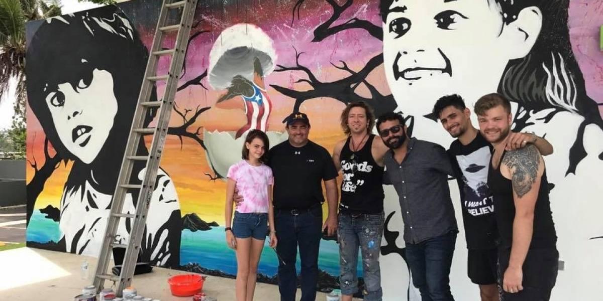 Banda estadounidense llega hasta Aguada para ayudar