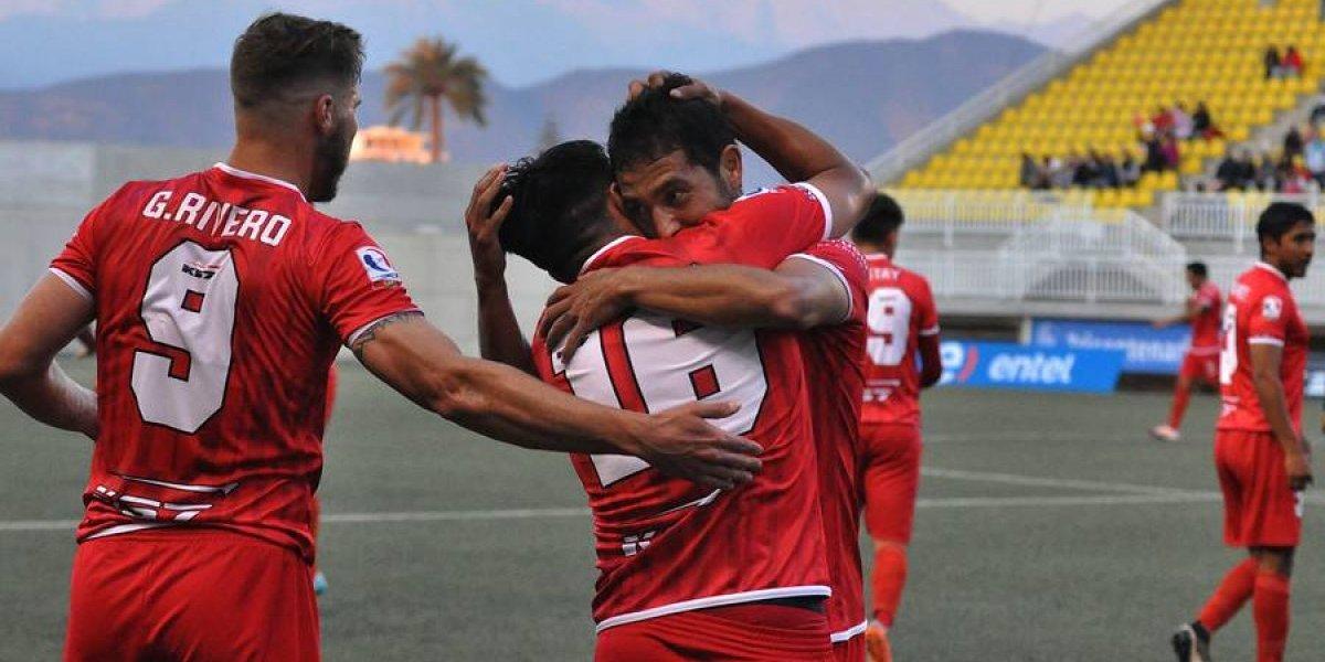 Unión La Calera cerró un semestre de ensueño con goleada a Cobreloa