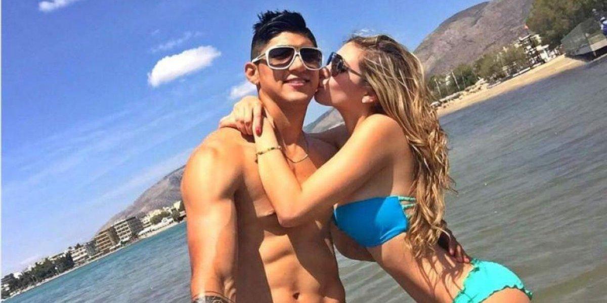 Alan Pulido e Ileana Salas vuelve a estar juntos