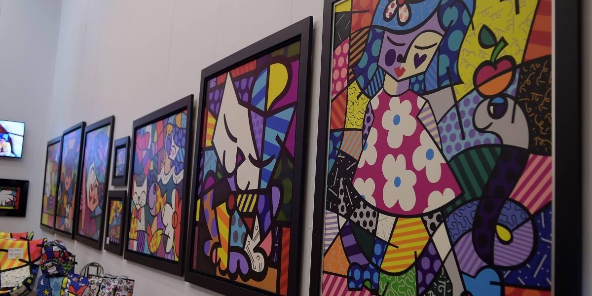 Romero Britto, artista preferido dos políticos, está 'triste'