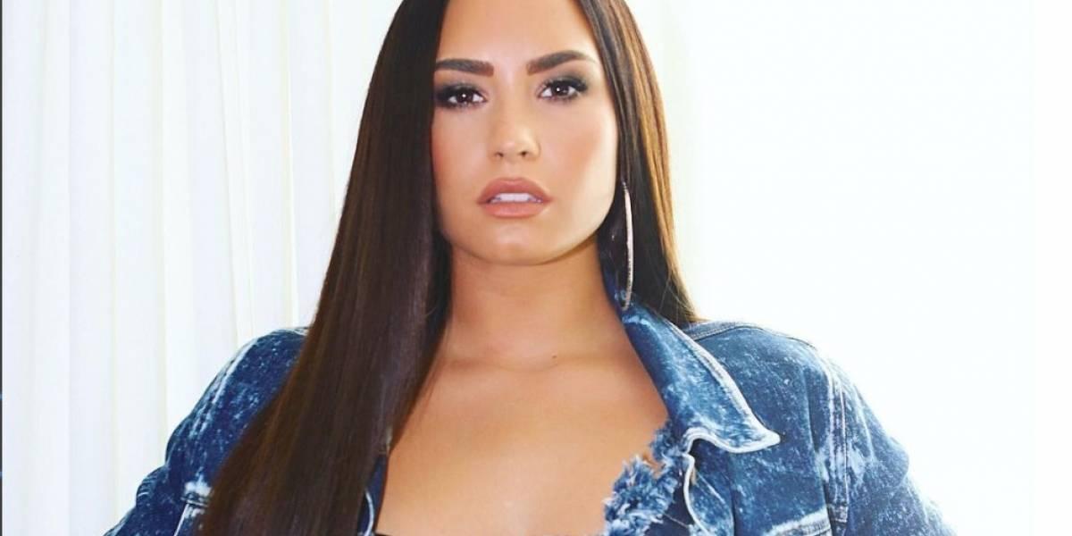 Demi Lovato no dejó nada a la imaginación en los MTV EMA 2017