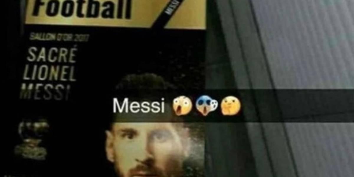 Filtran portada de revista donde Messi gana Balón de Oro 2017