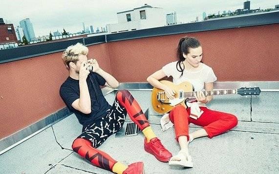 Sophie Hawley-Weld y Tucker Halpern forman Sofi Tukker Foto: Instagram