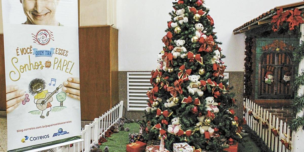Carta de Papai Noel poderá ser on-line