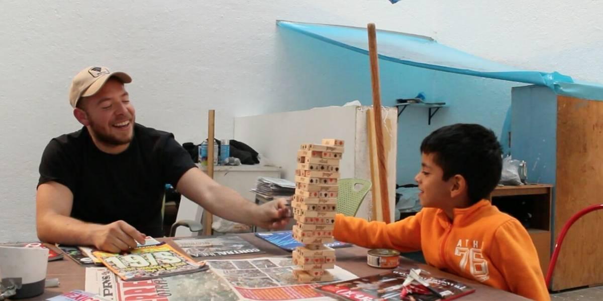 #AfuerzasMéxico, damnificado del 19-S abre galería de arte