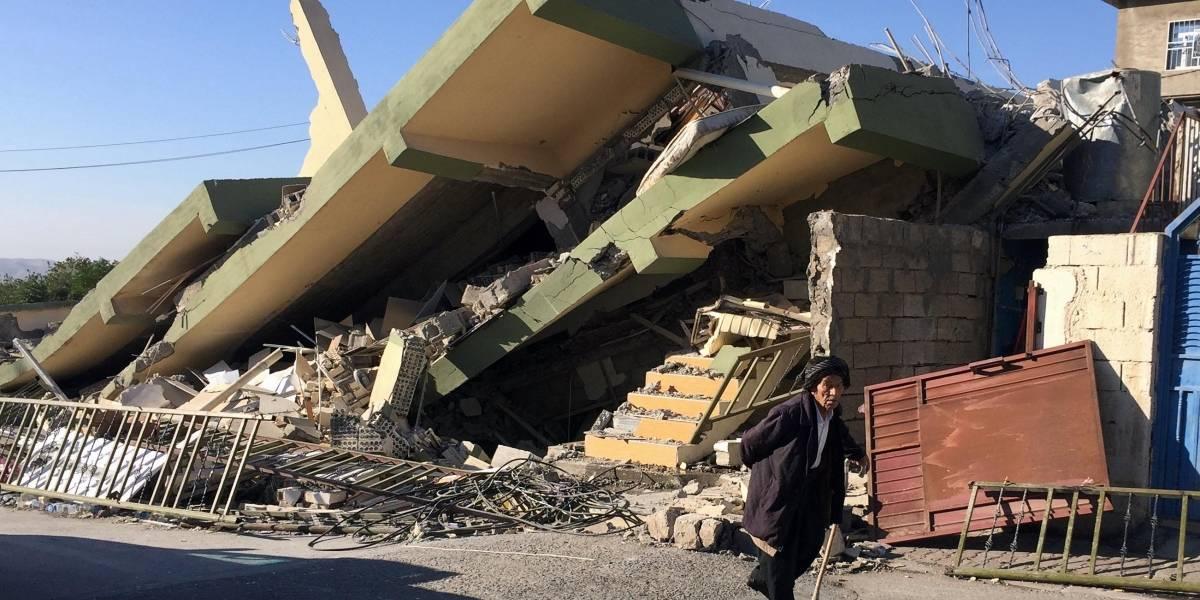 Terremoto no Irã e no Iraque mata mais de 500 e fere mais de 8 mil