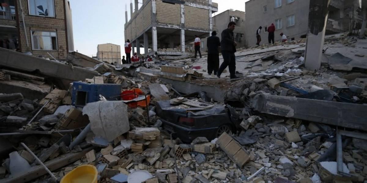 VIDEOS. Un violento terremoto deja más de 150 muertos en Irán