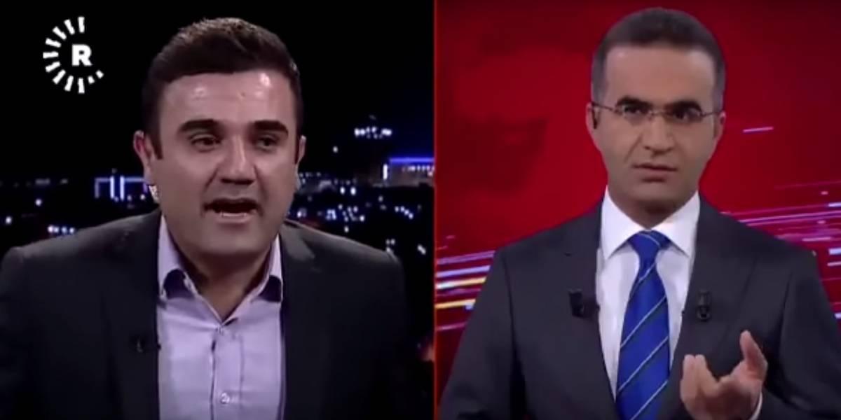 VIDEO. Terremotosorprende a periodista y entrevistado durante noticiero en vivo en Irak