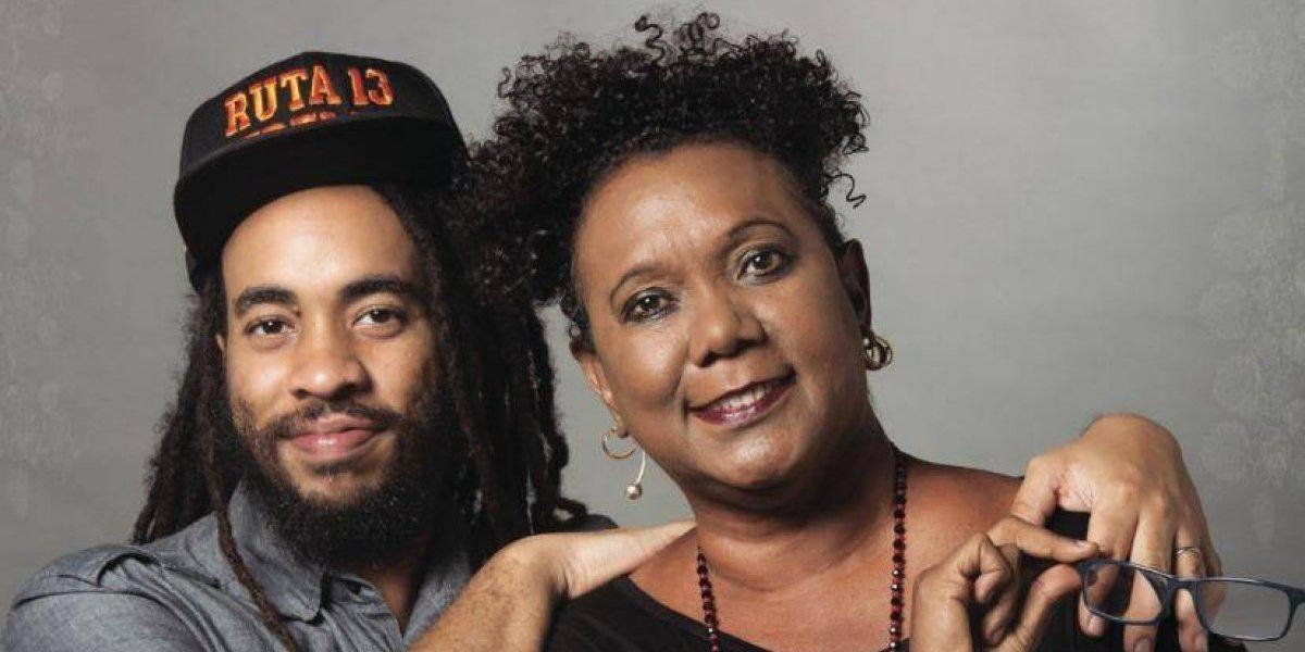 Xiomara Fortuna y Vic Contreras en concierto