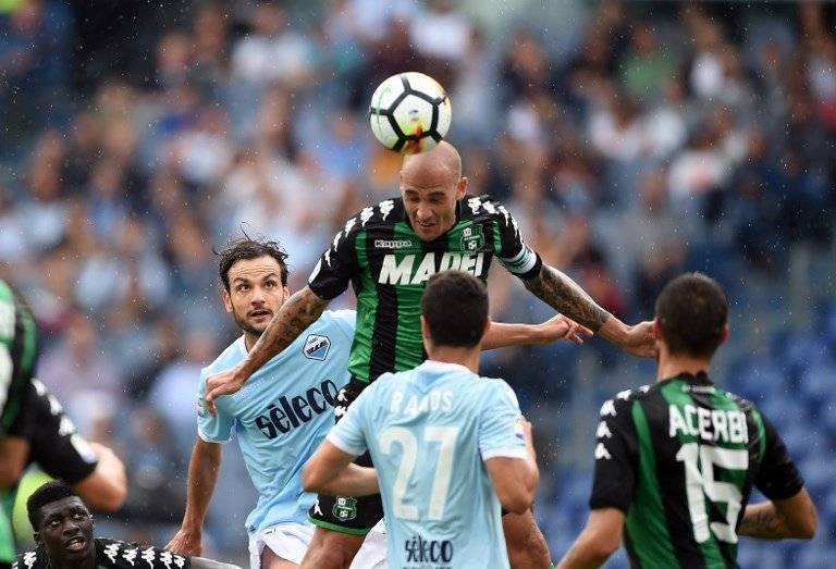 Paolo Cannavaro es el capitán del Sassuolo / Foto: AFP