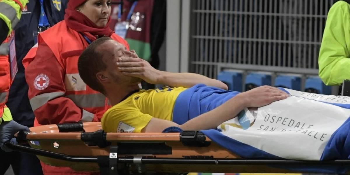 El verdugo de Italia se perderá el Mundial por lesión