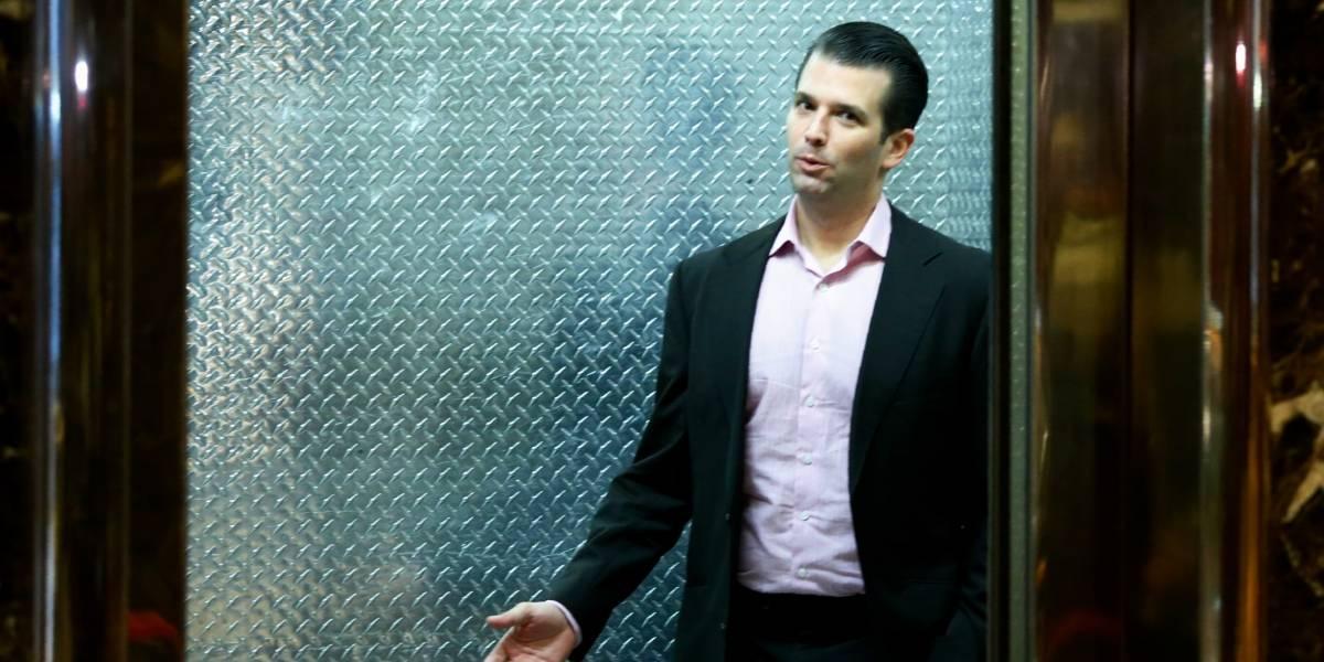 Trump Jr vuelve a poner en problemas a su papá: intercambió mensajes con Wikileaks durante la campaña presidencial