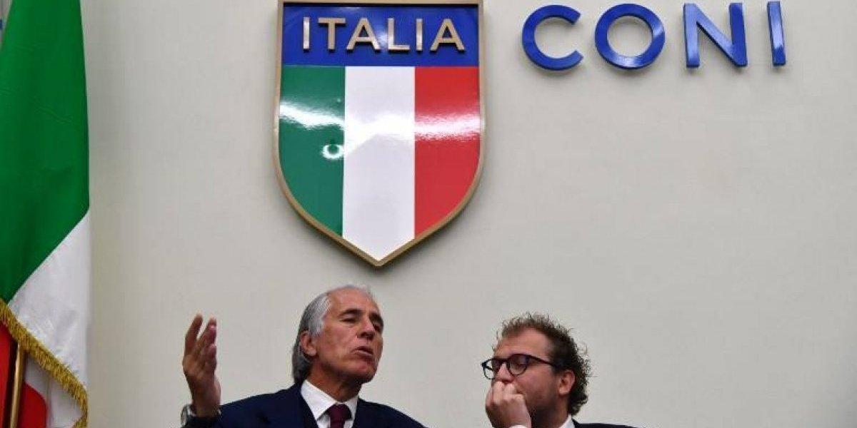 """Gobierno italiano en alerta: """"Hay que refundar por completo nuestro fútbol"""""""