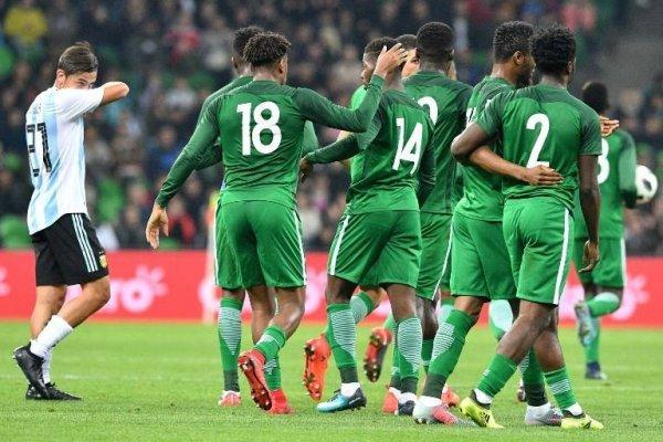Nigeria venció a Argentina / imagen: AFP