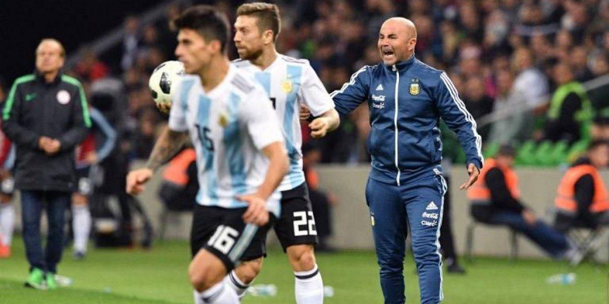 """Sampaoli y la debacle de Argentina ante Nigeria: """"El equipo no se puede desmoronar"""""""