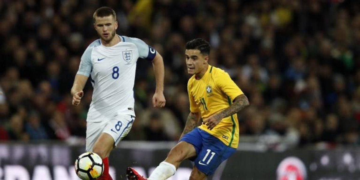 Brasil sumó un nuevo partido sin poder ganarle a Inglaterra en Londres