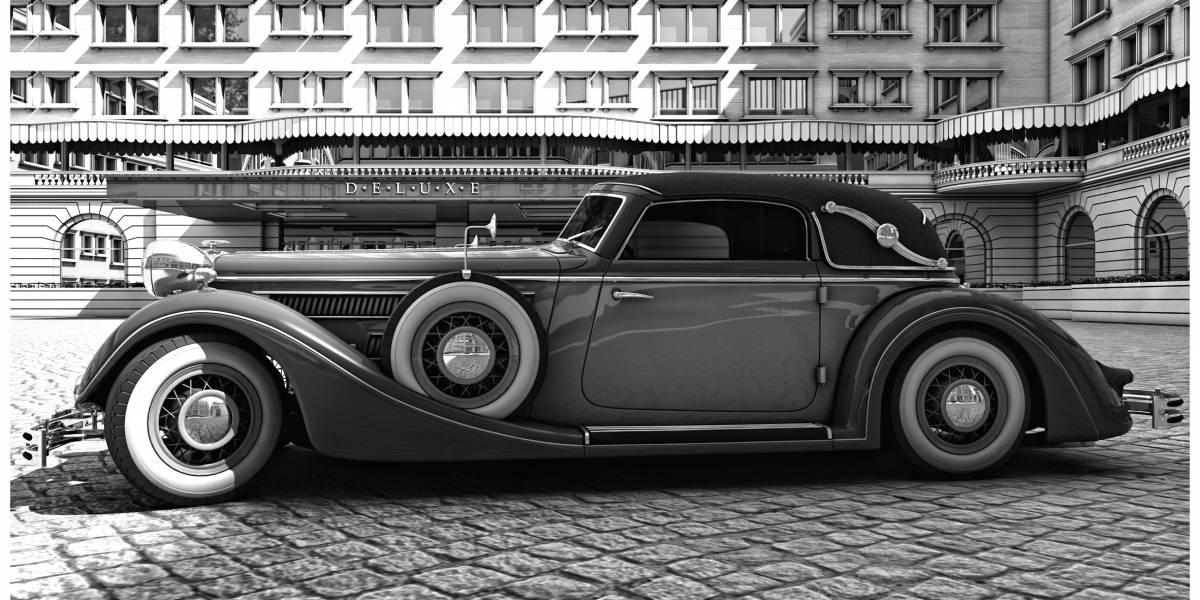 Horch 853 A Sports Cabriolet: um dos mais belos conversíveis da história