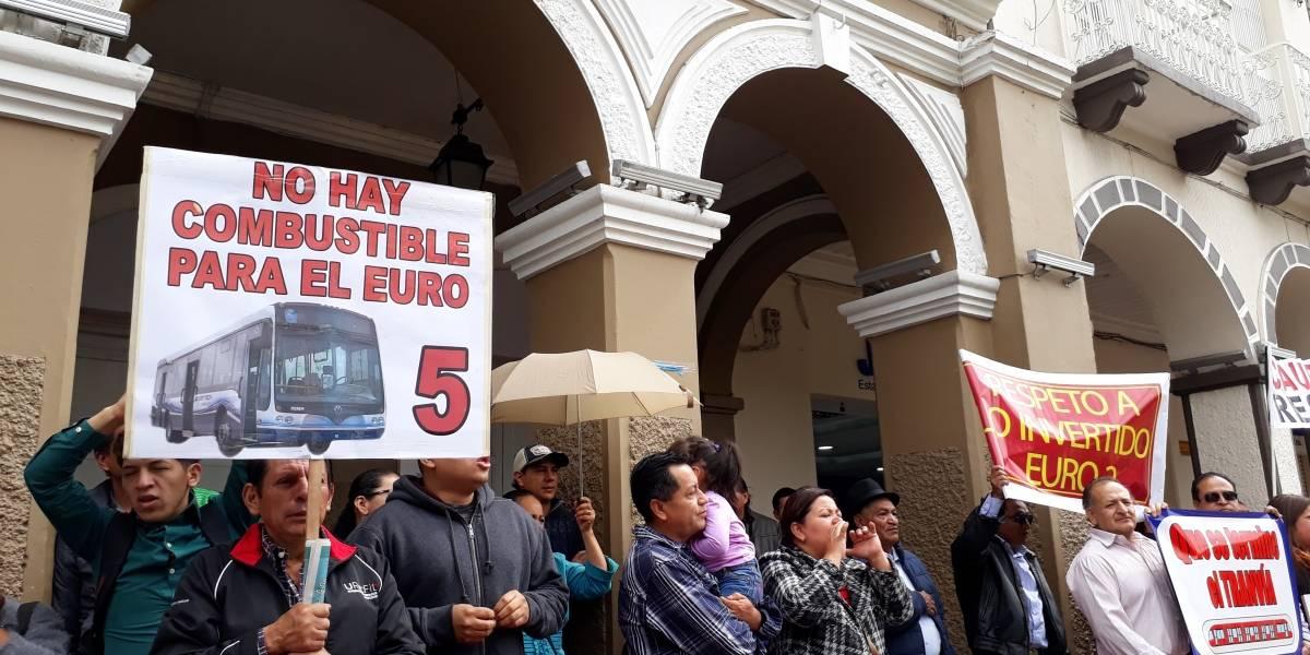Renovación de buses urbanos en Cuenca aún no se concreta