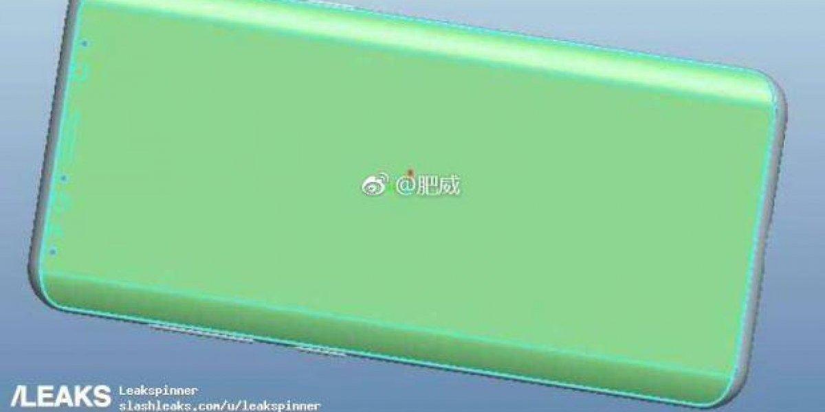 Filtran imágenes del supuesto diseño de Galaxy S9